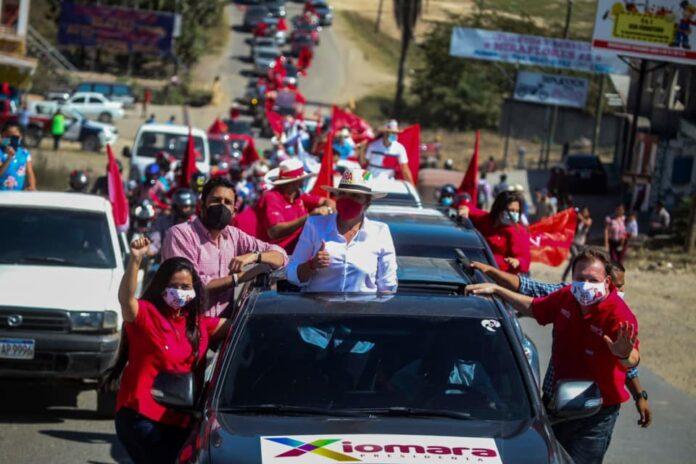 Xiomara Castro concluye recorrido por el occidente del país; los otros candidatos de LIBRE sin actividad