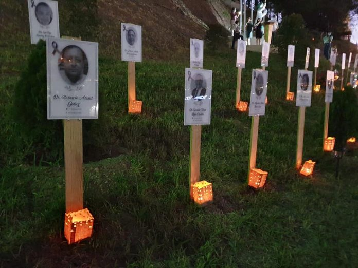 Médicos muertos Covid Honduras