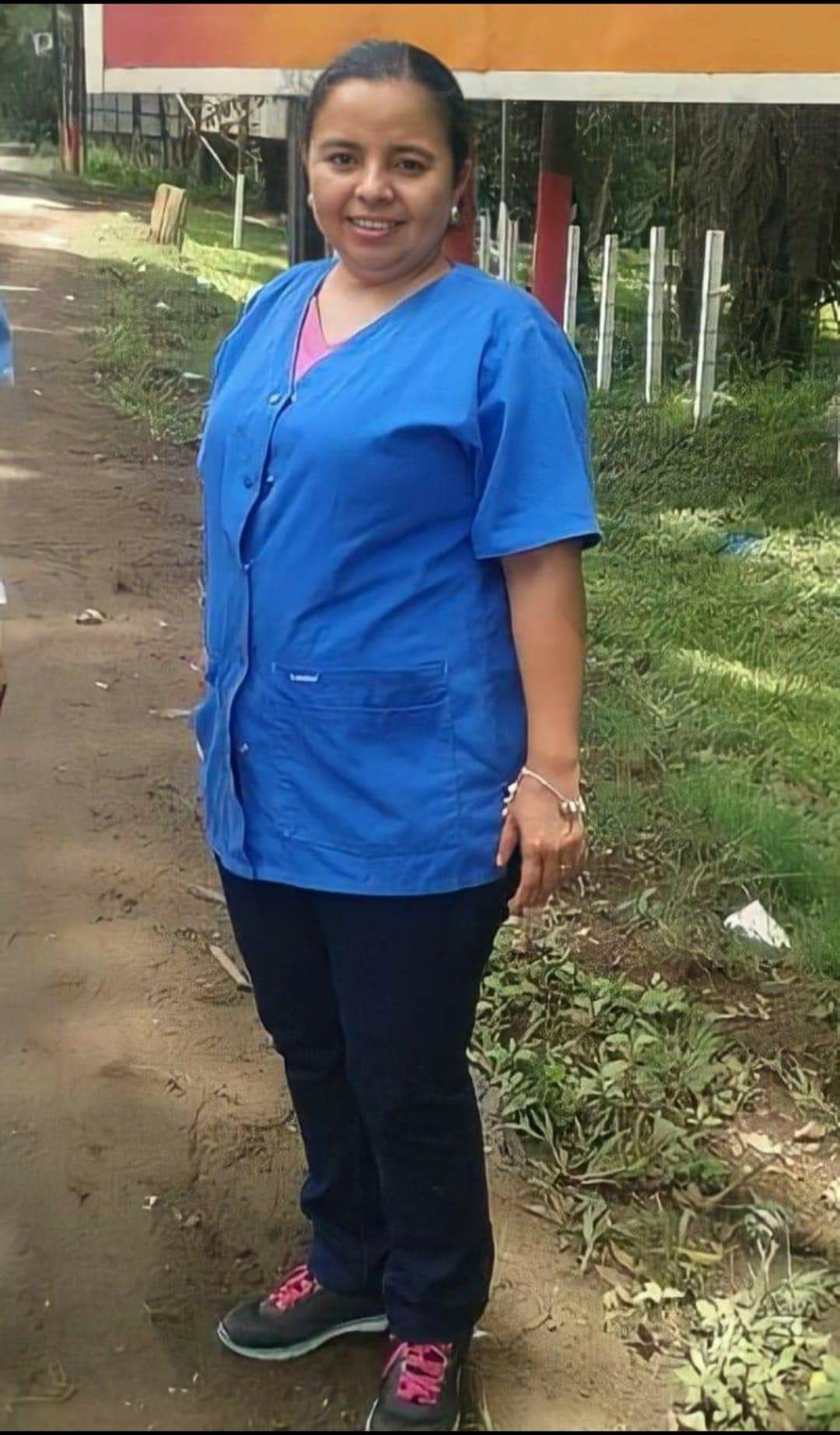 muere enfermera Juana Aguilar