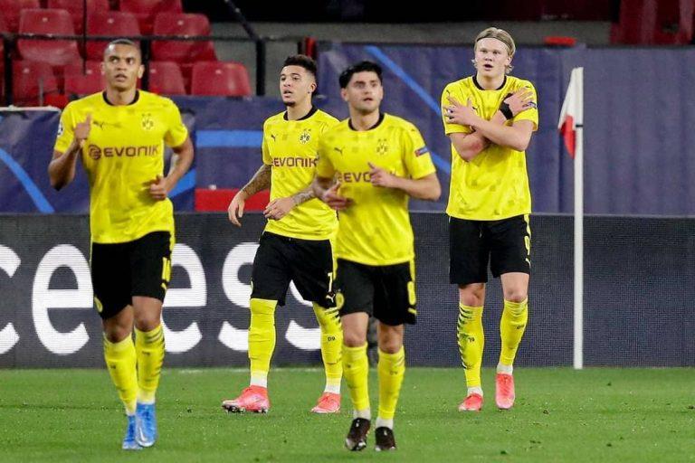 Dortmund remonta en el Pizjuán y es favorito en la eliminatoria