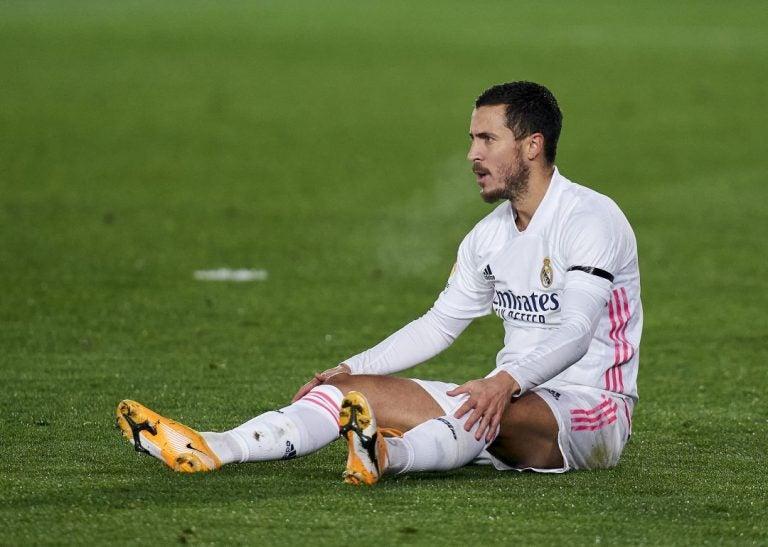Se suma una más: Eden Hazard se vuelve a lesionar con el Real Madrid