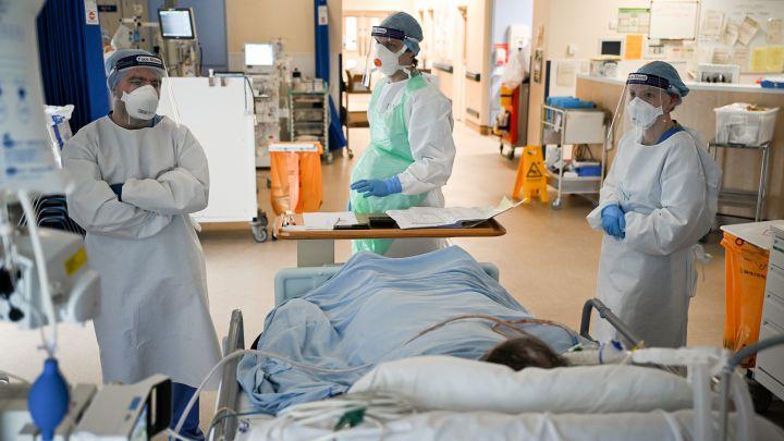 Reino Unido COVID-19 hospitalizaciones