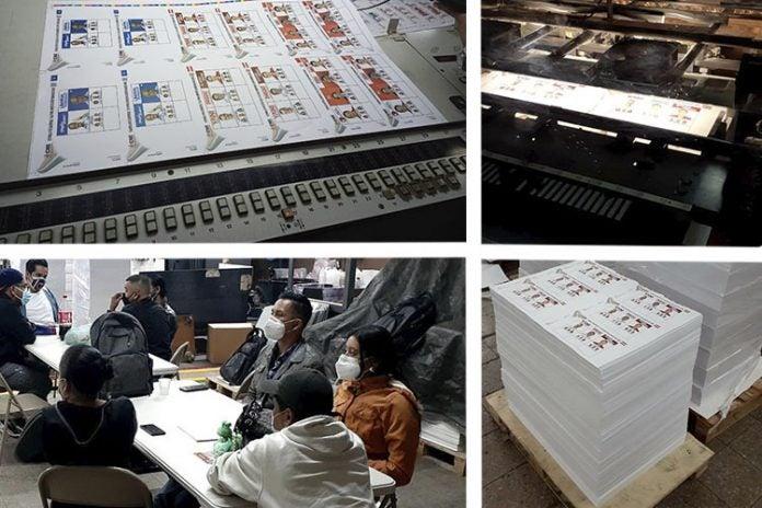 CNE papeletas electorales