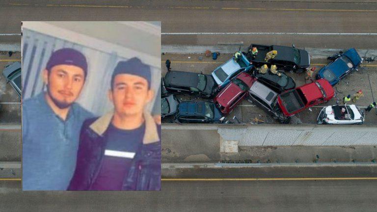 Tres hondureños, víctimas de accidente múltiple en EEUU; familia cree que dos murieron