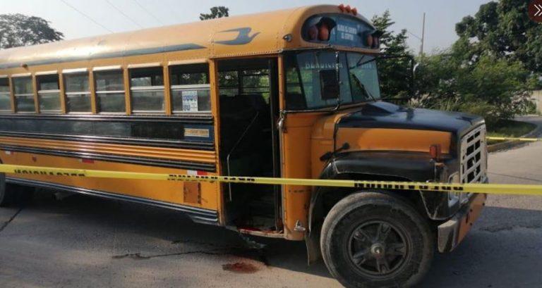 Matan a conductor de autobús en SPS; hay tráfico lento en Segundo Anillo