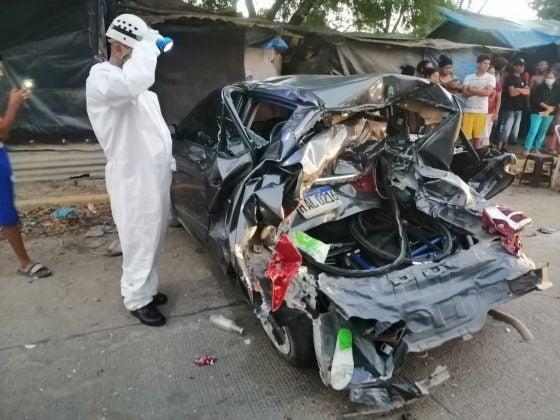 accidente en La Lima