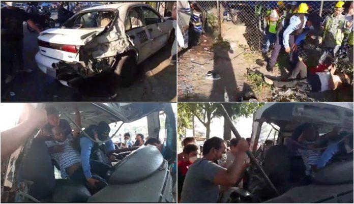 SPS Accidente de tránsito
