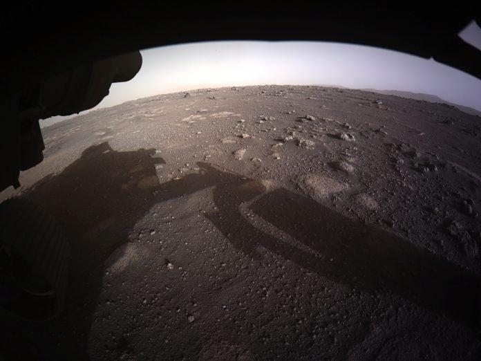 Sonidos en el planeta Marte