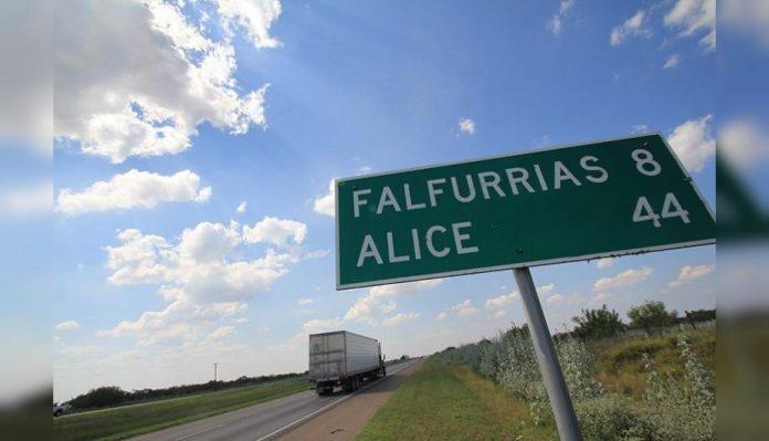 Desierto Falfurrias, frontera con México y EEUU