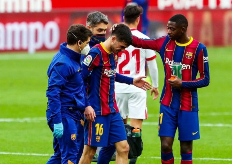 Pedri sufre lesión muscular y se pierde la vuelta de Copa ante Sevilla