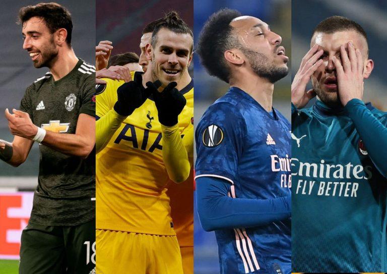 Europa League resumen: Tottenham y United golean; Milán y Arsenal no pueden ganar