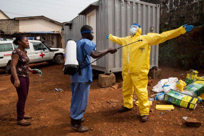 África virus del ébola