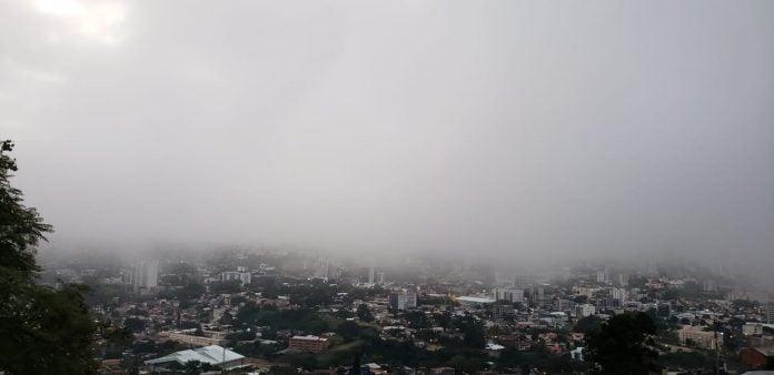 lluvias por masa de aire frío