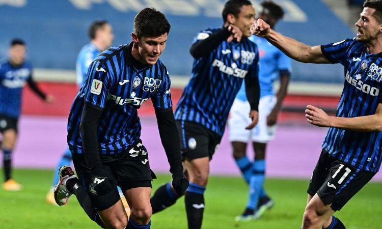 Atalanta elimina al Napoli y será el rival de Juventus en la final