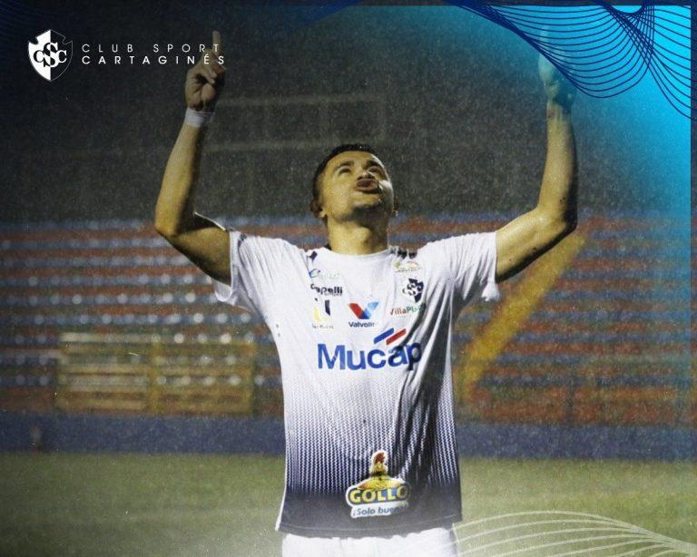 Roger Rojas marca su tercer gol con el Sport Cartaginés