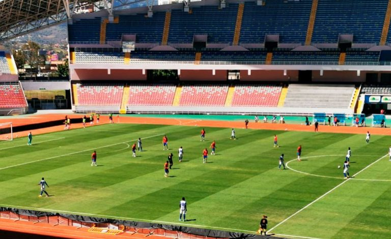 Sub-23 de Honduras iguala a cero en el primer amistoso contra Costa Rica