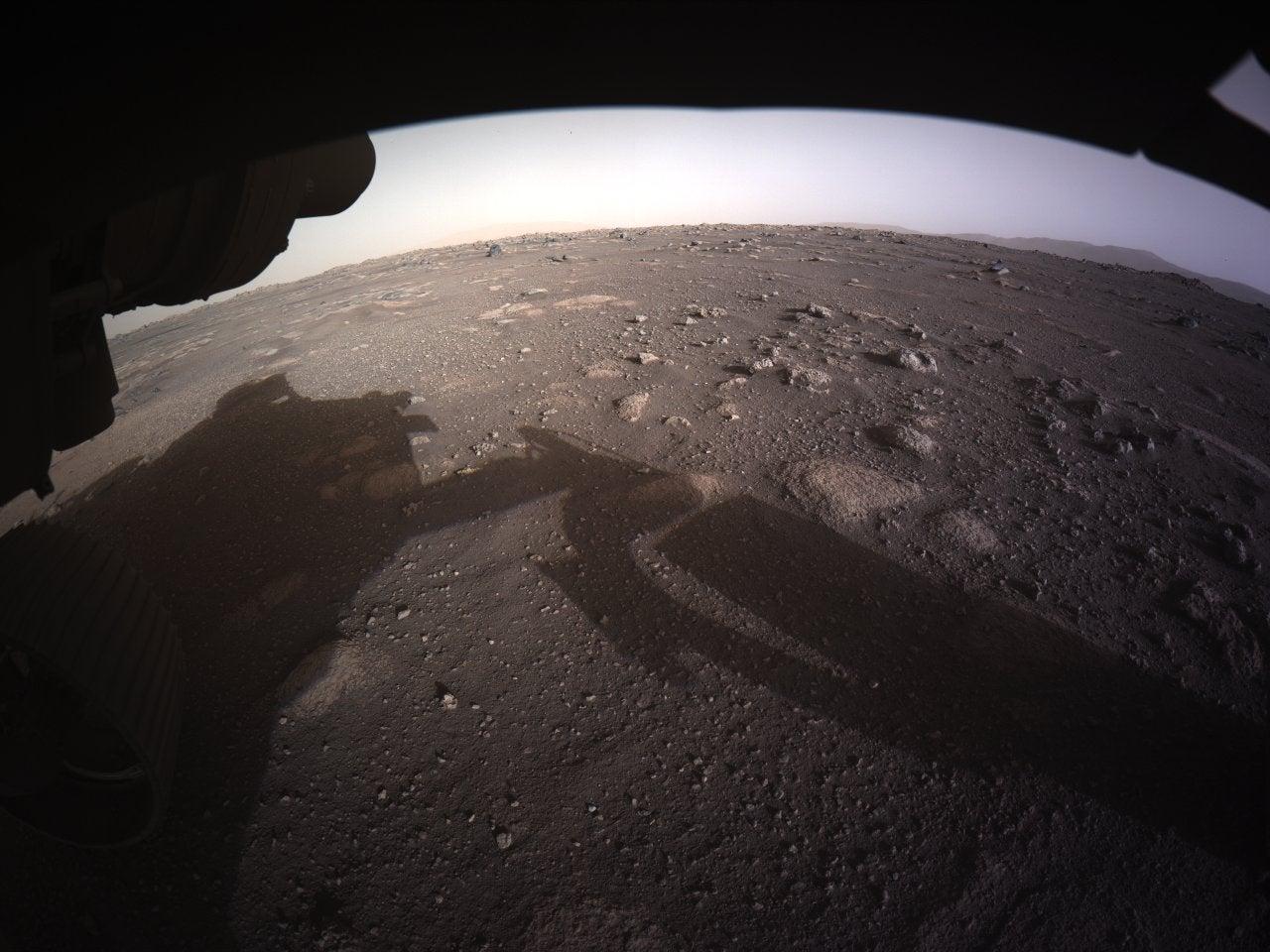 Marte imágenes en color