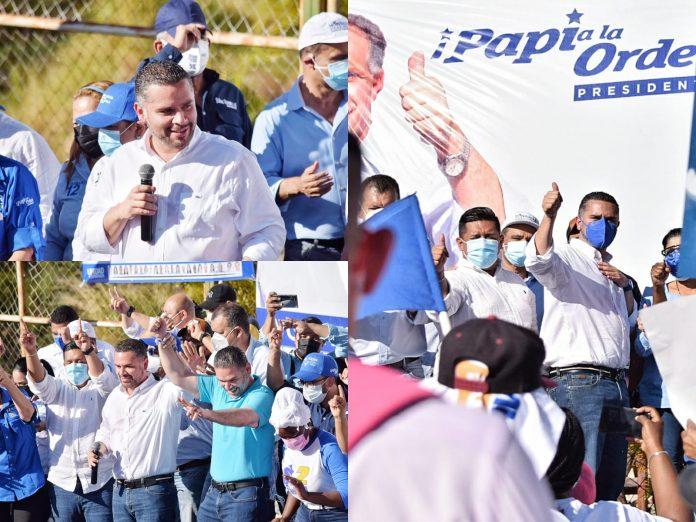 David Chávez Honduras reconstrucción