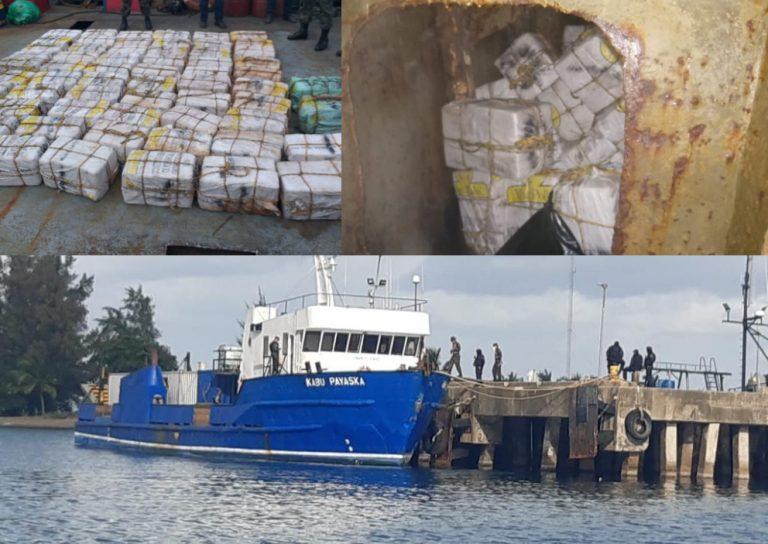TGU: detención judicial a involucrados en decomiso de 1,300 kilos de cocaína