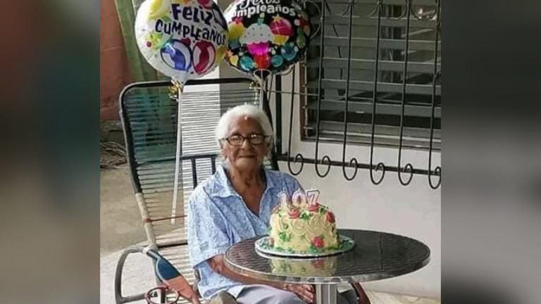Muere a los 107 años doña Enma Padilla, posiblemente «la dama más longeva de El Progreso»