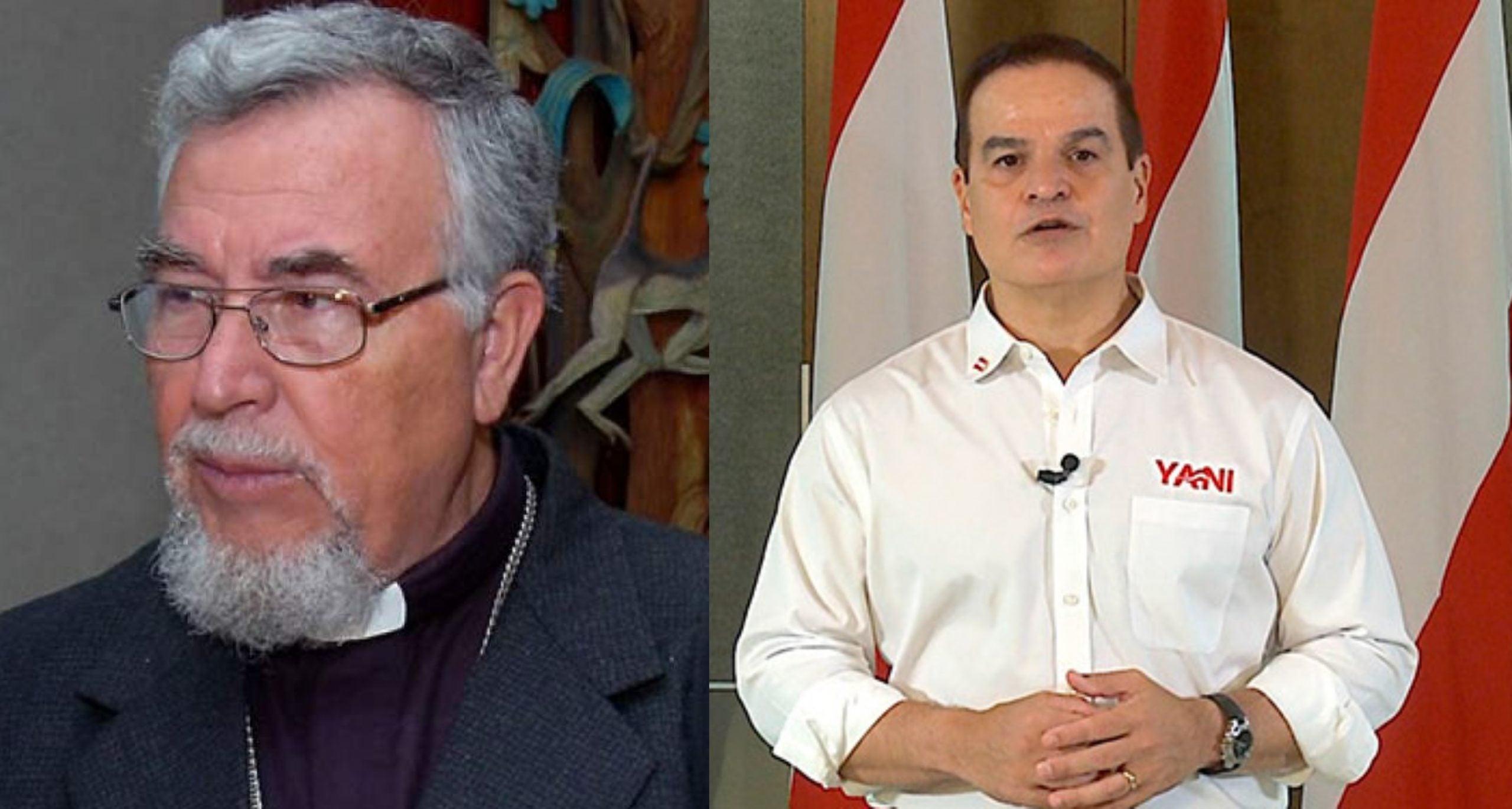 Obispo Luis Alfonso Santos Yani mejor candidato
