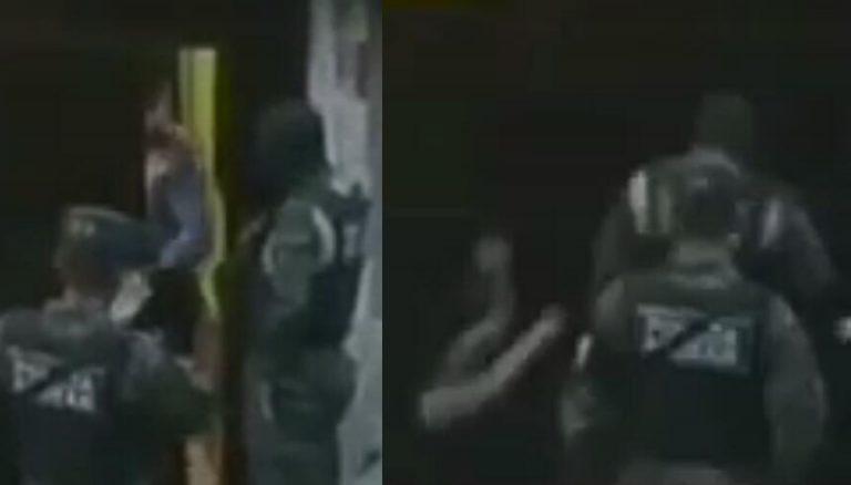VÍDEO| Captan a militar golpeando a una mujer en la capital