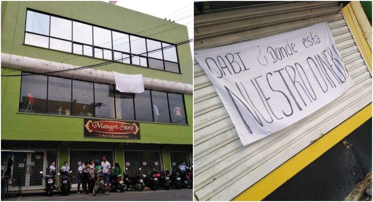 Empleados de Mangy´s Store exigen salarios atrasados; OABI amenaza con suspensiones