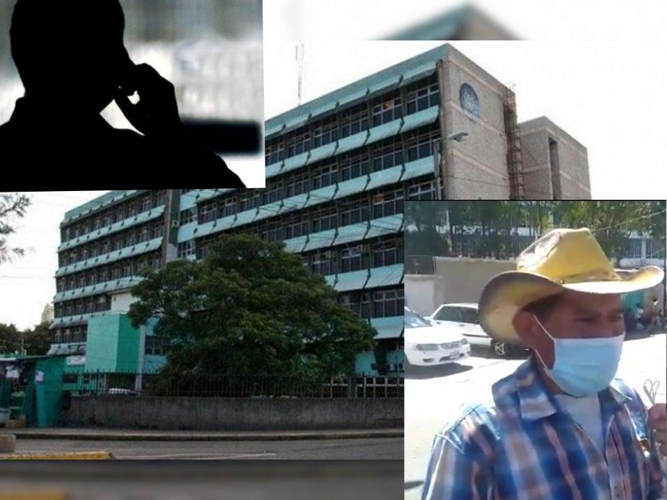 Hombre robado Hospital Escuela