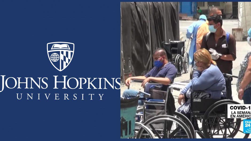 Hopkins Covid letalidad Centroamérica