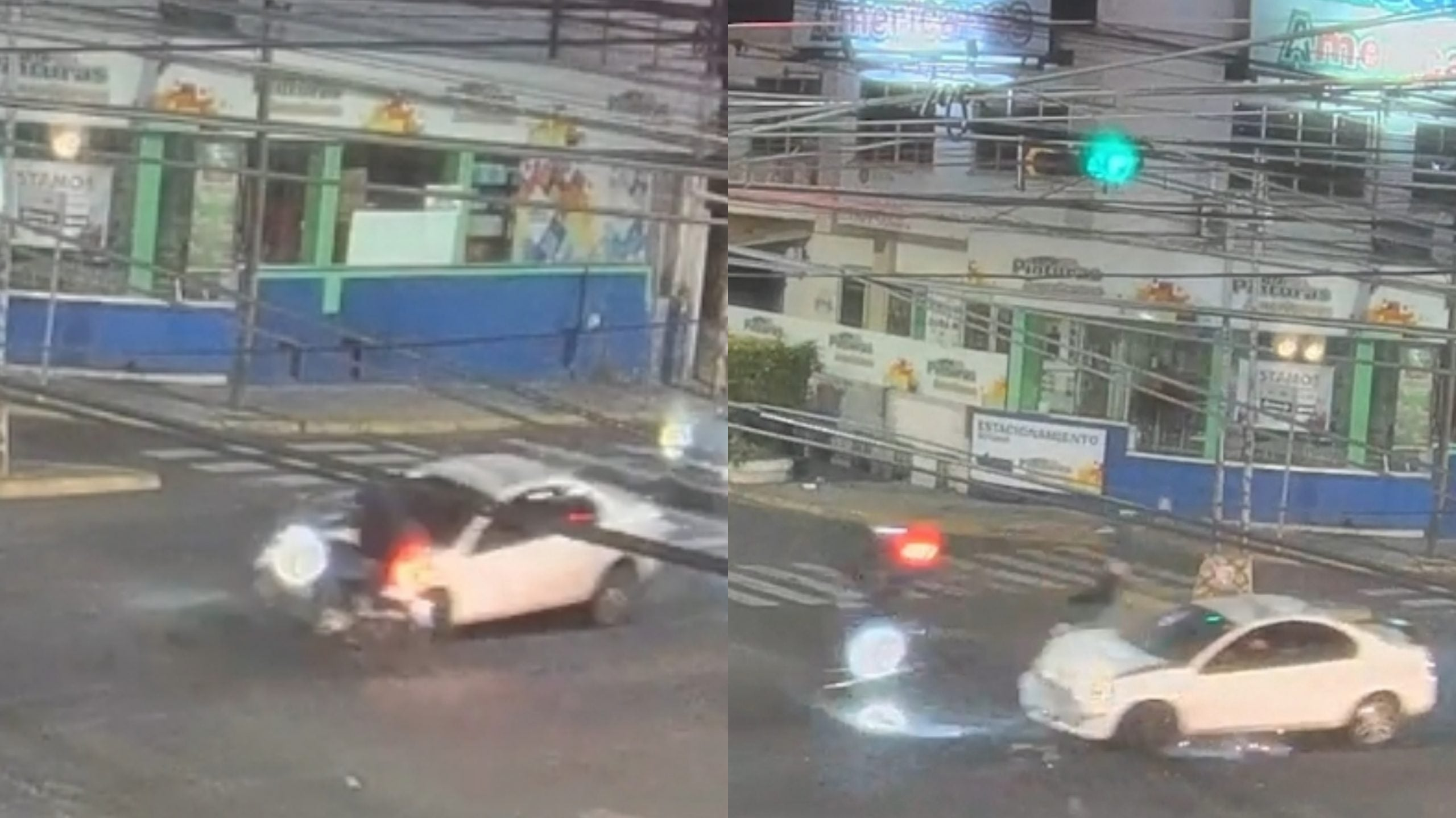 accidente bulevar Morazán Tegucigalpa