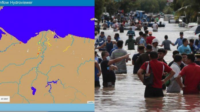 Eta Iota inundaciones