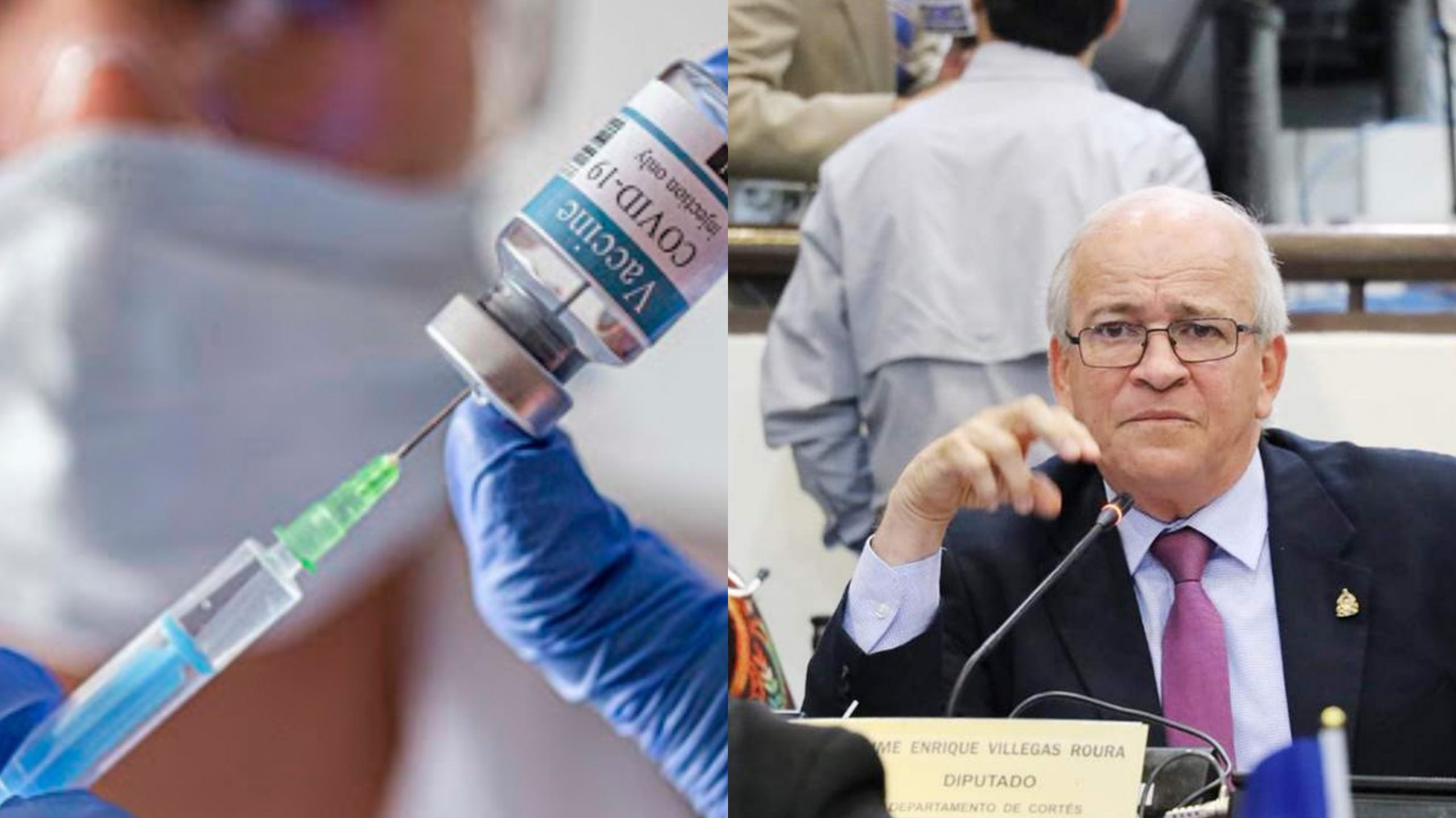 Jaime Villegas vacuna Covid