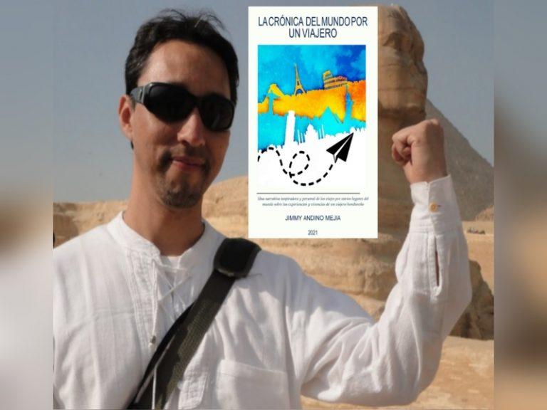 Biólogo hondureño publica libro contando su experiencia en 32 países de mundo