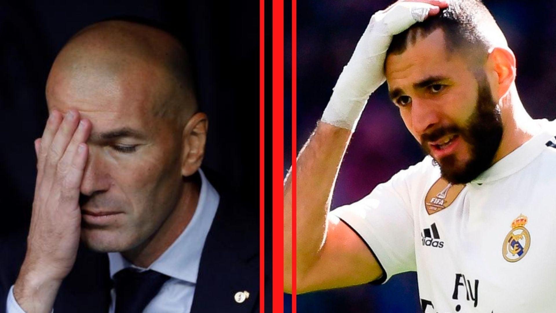 Real Madrid pierde a Karim Benzema para el partido ante Valladolid