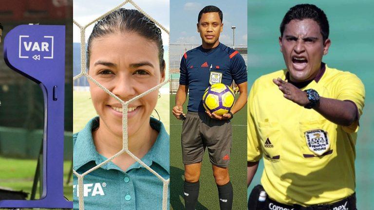 Tres árbitros hondureños capacitados para usar el VAR