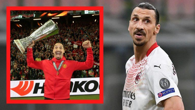 El duelo más llamativo de la Europa League: Zlatan vs Manchester United