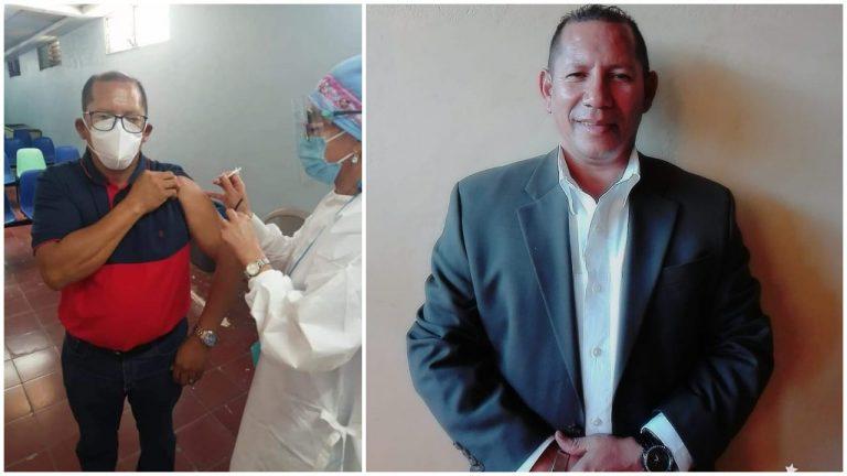 Explican por qué se vacunó un precandidato a diputado por LIBRE en el San Felipe
