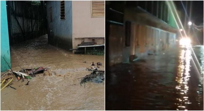 Inundaciones en Roatán