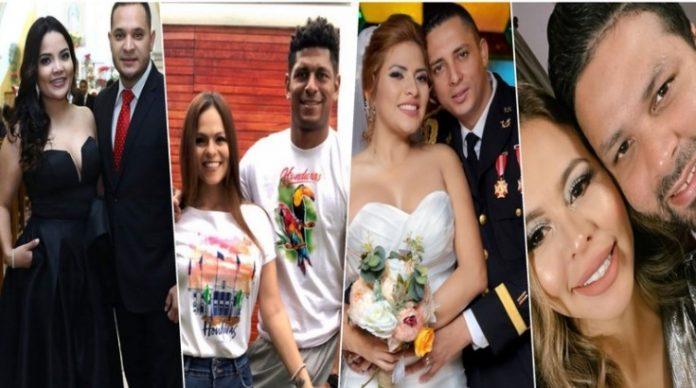 parejas famosos hondureños