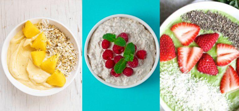 SALUD  Cinco ideas de tazones saludables y deliciosos