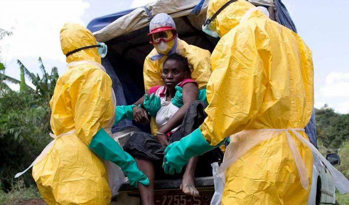 Casos de Ébola en África