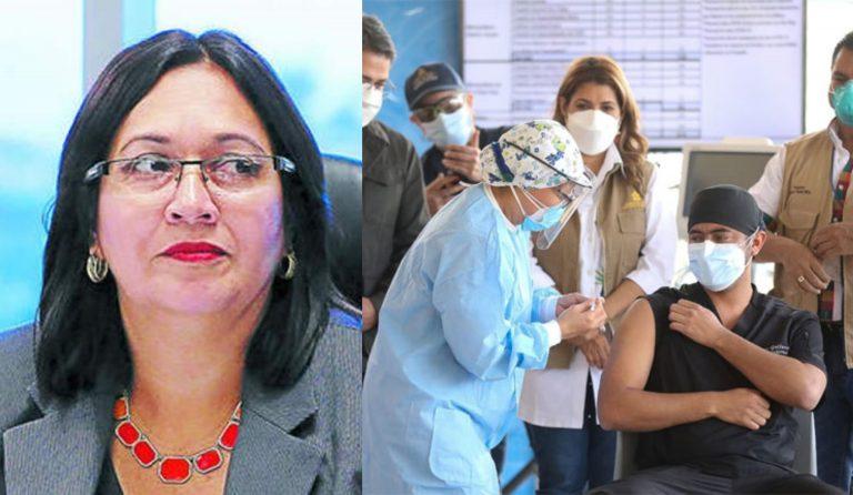 """Araujo: """"Lo prudente es vacunar a personal que labora en UCI y salas COVID-19″"""