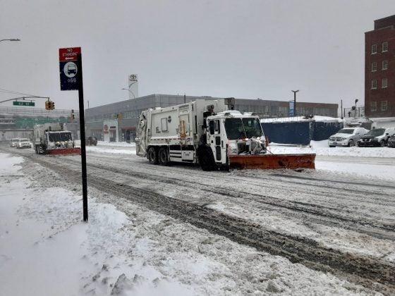 tormenta invernal noroeste de EEUU