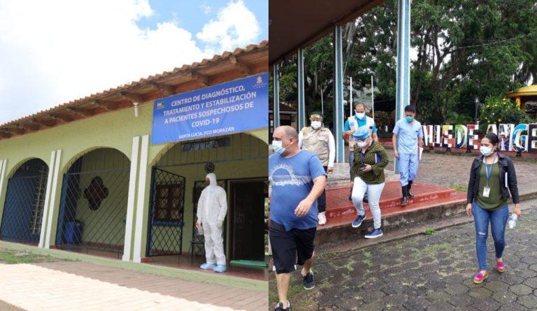 Triajes de Santa Lucia y Valle de Ángeles reportan aumento de positividad por COVID