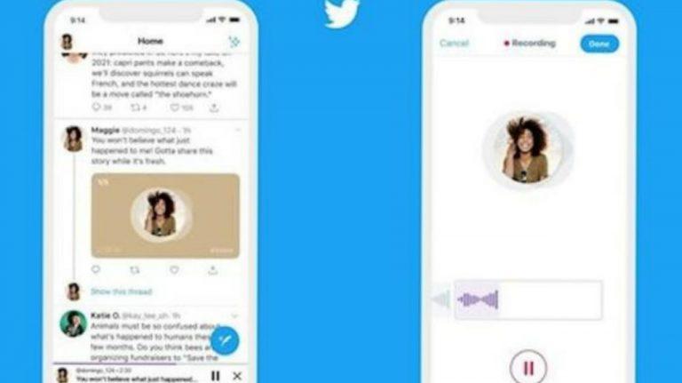 Twitter prueba mensajes de voz a través de mensajes directos