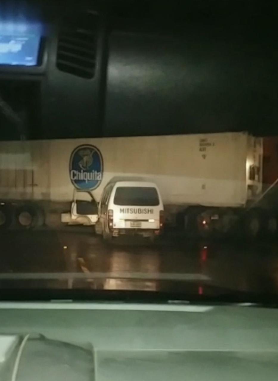 Accidente de tránsito en SPS
