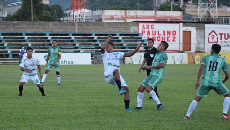 Platense remonta y termina goleando a Real de Minas en Danlí