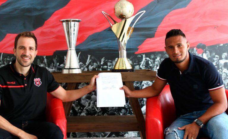 OFICIAL: Alajuelense sella a Alex López hasta 2024