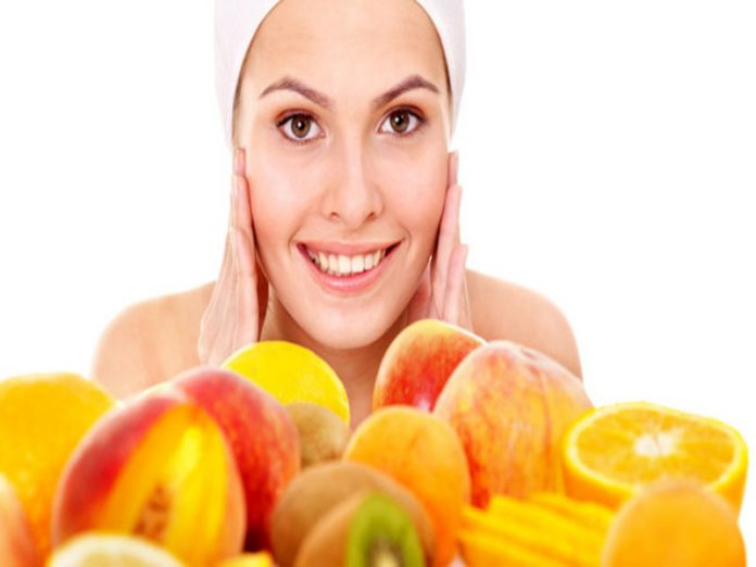 piel alimentación salud