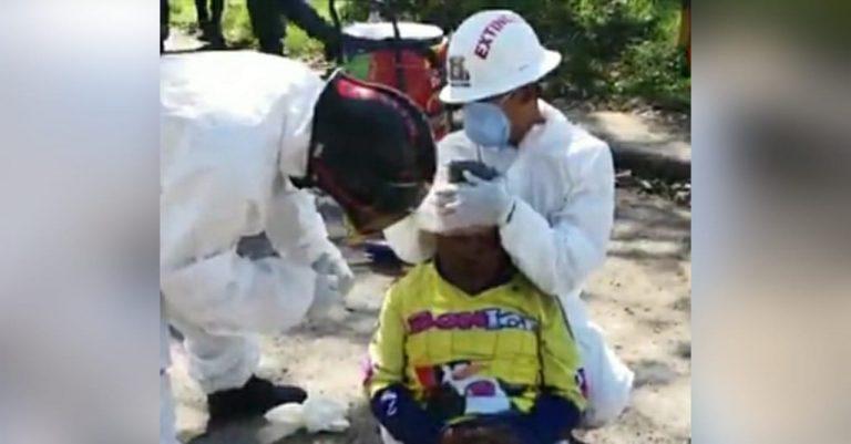 Motociclista atropella a un anciano que vendía helados en Siguatepeque